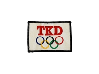 TKD OLYMPIC 5 RINGS PATCH