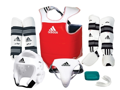 ADIDAS COMPLETE SPARRING GEAR SET