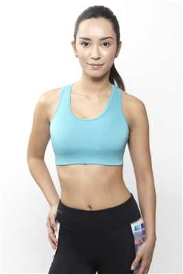 SMART ONE, GIN TEAL SPORTS BRA