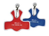 CHEST GUARD KEYCHAIN-TAEKWONDO