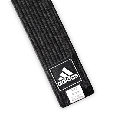 "ADIDAS 2"" WIDE BLACK BELT"