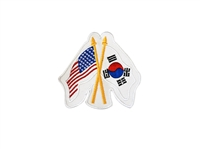 USA / KOREA FLAG PATCH