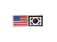 FLAG KOREA&USA PATCH