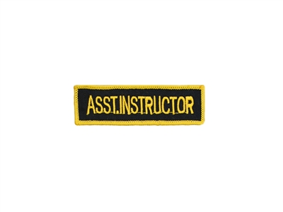 Asst.Instructor Patch