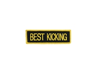 Best Kicking Patch
