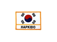 FLAG OF KOREA & HAPKIDO PATCH