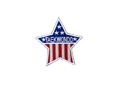 FLAG STAR & TAEKWONDO PATCH
