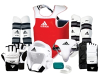 ADIDAS DELUXE SPARRING GEAR SET