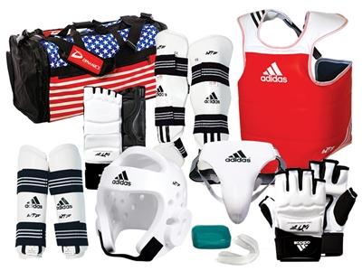 ADIDAS Ultimate taekwondo sparring gear
