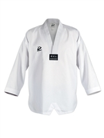 GENESIS TAEKWONDO UNIFORM TOP ONLY - White Trim V neck