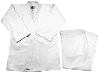JUDO WHITE SINGLE UNIFORM