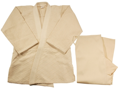 JUDO OFF WHITE UNBLEACHED SINGLE UNIFORM