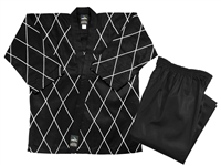 HAPKIDO BLACK/WHITE 14 OZ UNIFORM