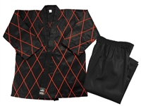 HAPKIDO BLACK/RED 14 OZ UNIFORM