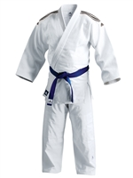 ADIDAS J650 CONTEST GI JUDO WHITE UNIFORM