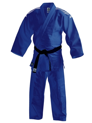 ADIDAS J650 CONTEST GI JUDO BLUE UNIFORM