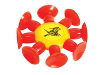 SUCTION CUP STAR- 6PCS OF BAG